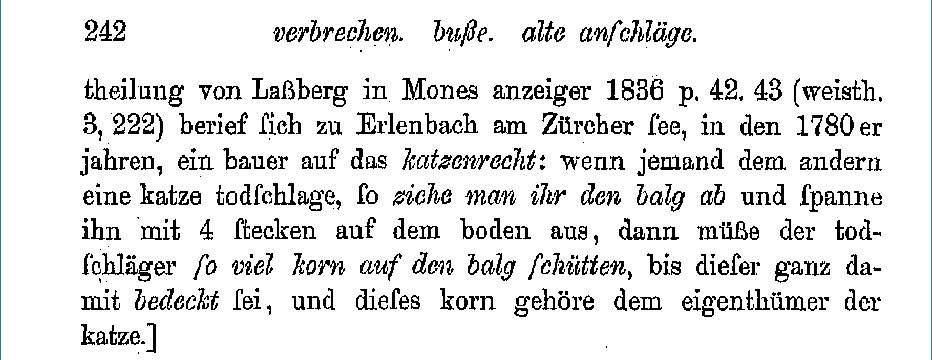 Grimm, Jacob: Deutsche Rechtsalterthümer , 4. Ausg. Band 2 , Leipzig 1899 . Seite: 242